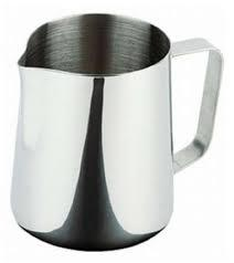 Джаг нержавеющий круглый для молока V 900 мл (шт) 9720