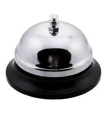 Звонок настольный для официанта Ø 85 мм (шт) 0119