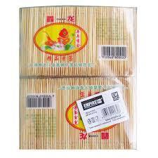 Зубочистка бамбуковая одностронняя L 65 мм (уп 1000 шт) 0282