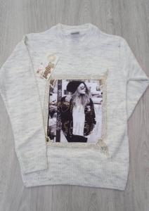 Фото Кофты, толстовки, рубашки, свитера Модный свитер 9-13 лет