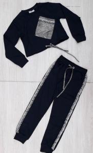 Фото НОВИНКИ Модный костюм 2-ка с укороченной кофтой 8-16 лет