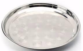 Поднос нержавеющий круглый Ø 400 мм (шт) 1340
