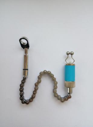 """Cвингер рыболовный для ловли карпа на велосипедной  цепочке , Сигнализатор механический  """"Coonor"""" ( Синий )"""