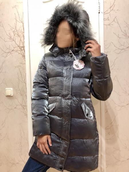 -20% Скидка. Модное пальто для девочки от 4-10 лет