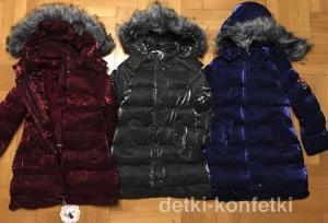 Фото Куртки, комбинезоны, пальто, жилетки ДЕВОЧКАМ ЗИМА. Модное пальто для девочки от 4-12 лет