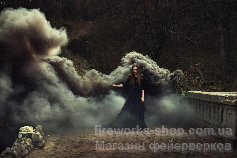 Фото Цветные дымы ДЫМ MA0509/черный 40 СЕКУНД
