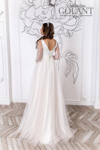 Фото Свадебные платья Свадебное платье для беременных с рукавами Лея