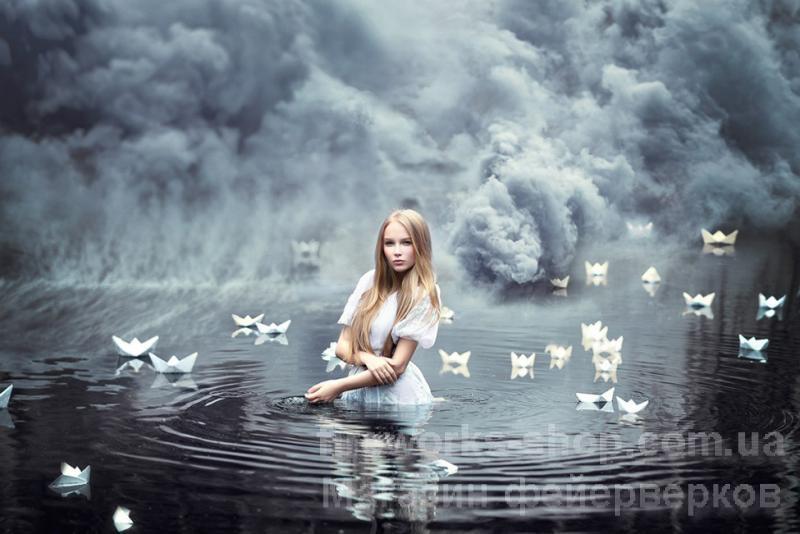Фото Цветные дымы ДЫМ MA0513/ЧЕРНЫЙ 60 СЕКУНД