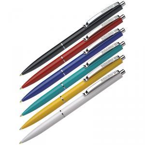 Ручка автоматическая K-15 Schneider синий стержень, ассорти корпус, Германия