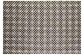 Коврик для сервировки стола серо - металлчческого цвета 450*300 мм (шт) 6002