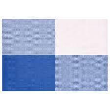 Коврик для сервировки стола серо - синего цвета 450*300 мм (шт) 6010