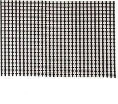 Коврик для сервировки стола серо - черного цвета 450*300 мм (шт) 7048