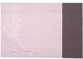 Коврик для сервировки стола фиалетого цвета с рисунками 450*300 мм (шт) 7055