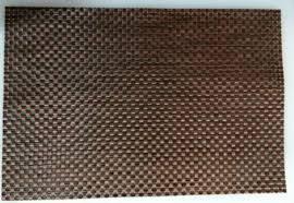 Коврик для сервировки стола черно- коричнего цвета 450*300 мм (шт) 6001