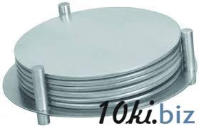 Подставка нержавеющая для чашек Ø 85 мм  (набор 7 шт) 1635 купить в Херсоне - Филателия