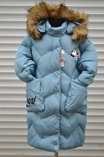 -45% Удлиненное зимнее пальто девочке 8-16 лет