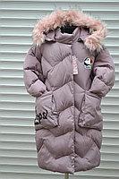 Фото НОВИНКИ Супер цена! Удлиненное зимнее пальто девочке 8-16 лет