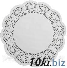 Салфетки бумажные круглые ажурные Ø 300 мм (уп 100 шт) 0250 купить в Херсоне - Филателия