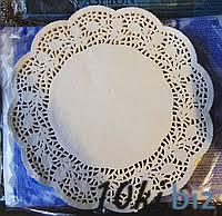 Салфетки бумажные круглые ажурные Ø 370 мм (уп 100 шт) 0252 купить в Херсоне - Филателия