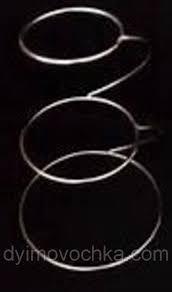 Тортовница (витрина) трёхъярусная нержавеющая круглая Н 415 мм (шт) 8977