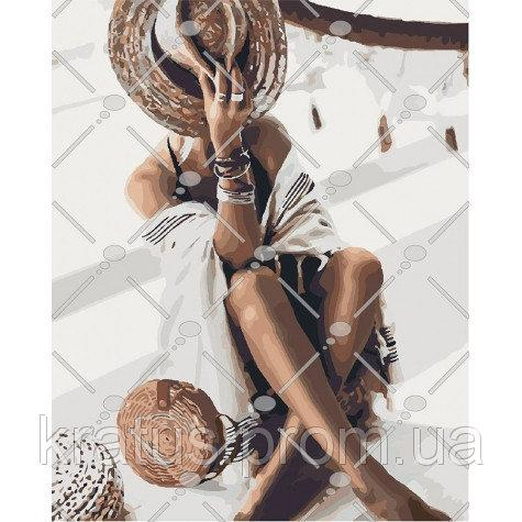 Фото Картины на холсте по номерам, Картины  в пакете (без коробки) 50х40см; 40х40см; 40х30см, Романтические картины. Люди. KHO 4569