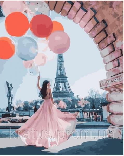 Фото  PGX 25445 Парижские желания Premium 40x50см