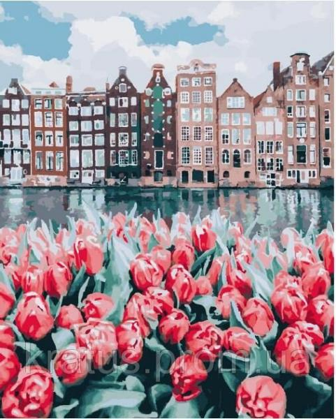 Фото  PGX 25449 Цветы Амстердама Premium 40x50см