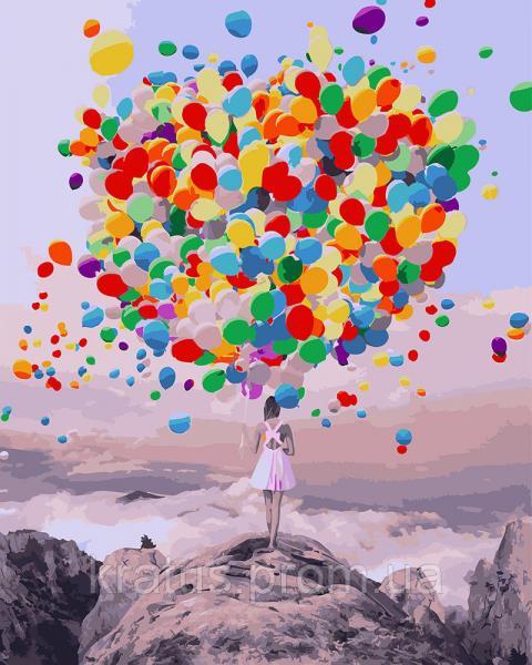 Фото  PGX 27954 Букет воздушных шаров Premium 40x50см