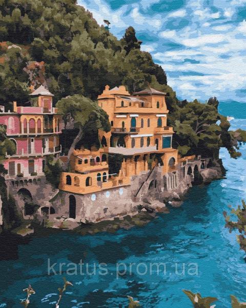Фото  PGX 29698 Замок у скалы Premium 40x50см