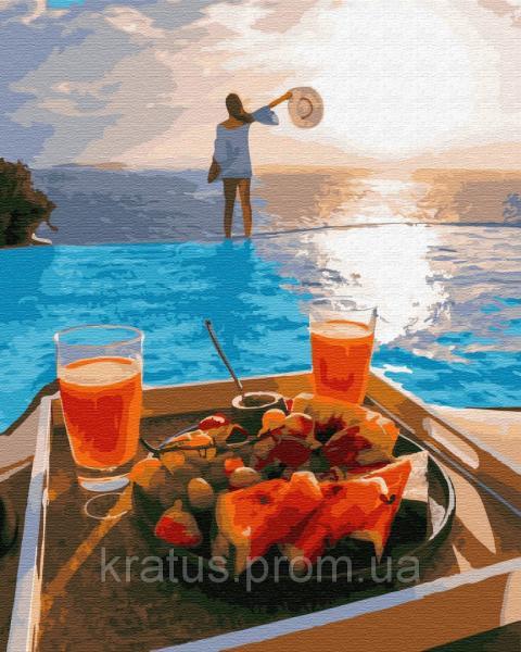 Фото  PGX 29699 Райский завтрак Premium 40x50см