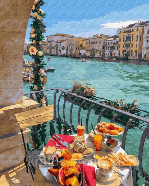 Фото  PGX 29701 Завтрак в Венеции Premium 40x50см