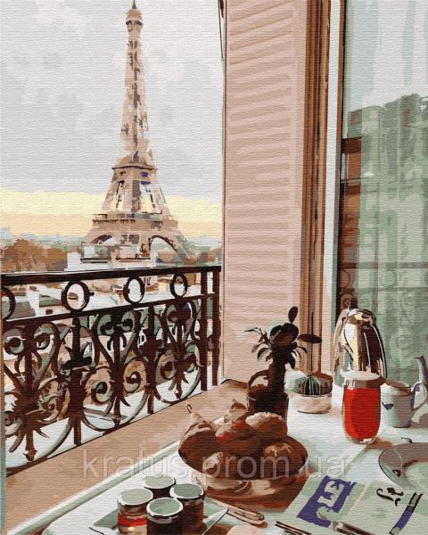 Фото  PGX 29704 Десерт в Париже Premium 40x50см