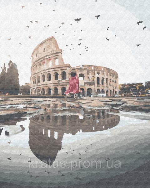 Фото  PGX 29714 Отражение Рима Premium 40x50см