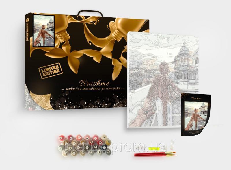 Фото  PGX 4887 Алые краски Парижа Premium 40x50см
