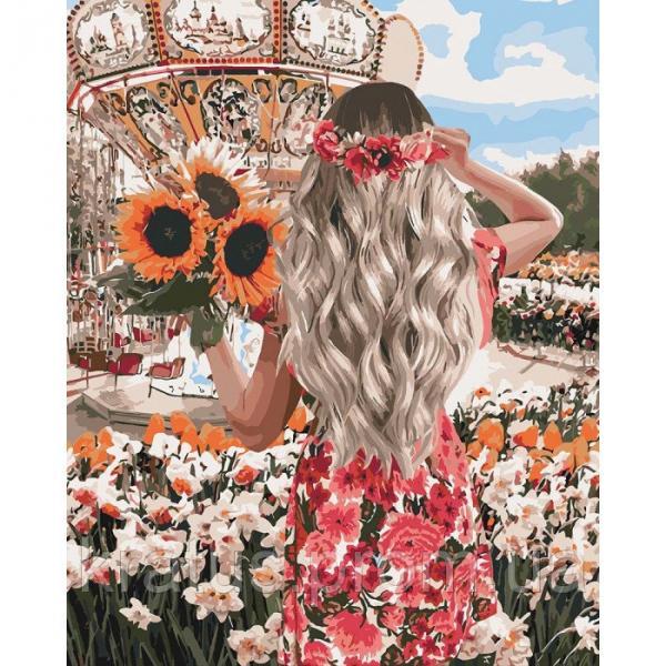 Фото Картины на холсте по номерам, Романтические картины. Люди KH 4607 Фантастический уикенд Роспись по номерам на холсте 50х40см в коробке