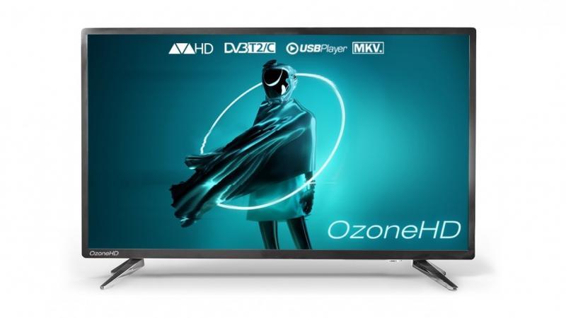 АКЦИЯ!!! Телевизор LED 24 дюйма OzoneHD 24HQ92T2