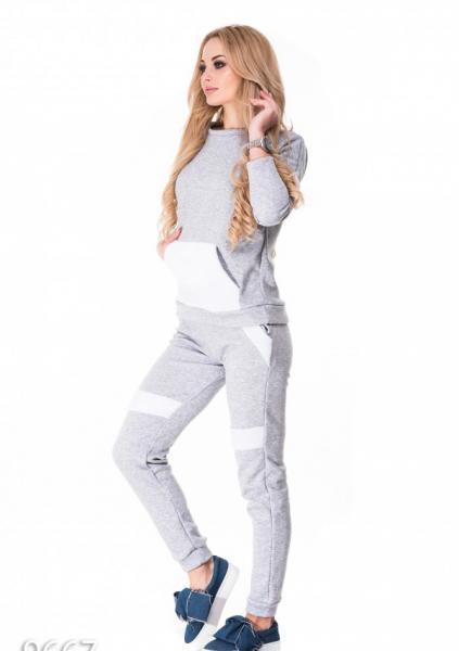 Фото  Спортивные костюмы ISSA PLUS 9667  XL серый
