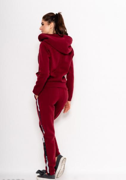 Фото  Спортивные костюмы ISSA PLUS 10270  XL бордовый