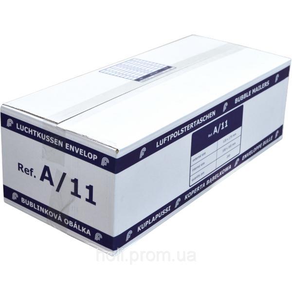 Бандерольный конверт A11, 200 шт, Польша Белый