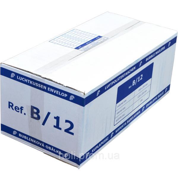 Бандерольный конверт B12, 200 шт, Польша Желтый