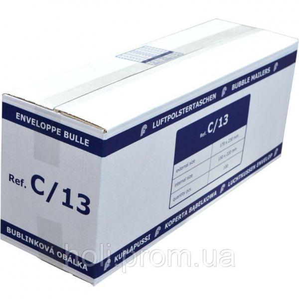 Бандерольный конверт C13, 100 шт, Польша Белый