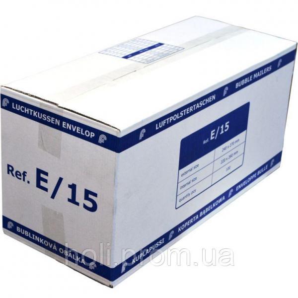 Бандерольный конверт E15, 100 шт, Польша Белый