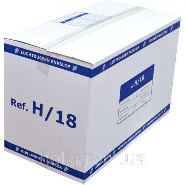 Бандерольный конверт H18, 100 шт, Польша Белый