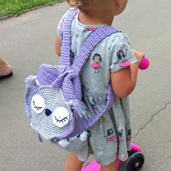 """Детский рюкзак """"Сова-сплюшка"""""""