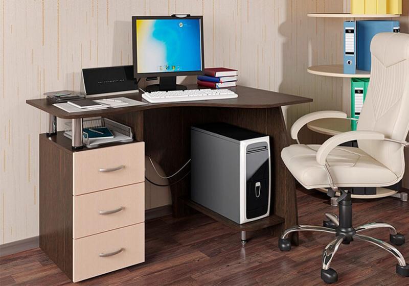 Фото Столы компьютерные и письменные Компьютерный стол Лорд (БТС)