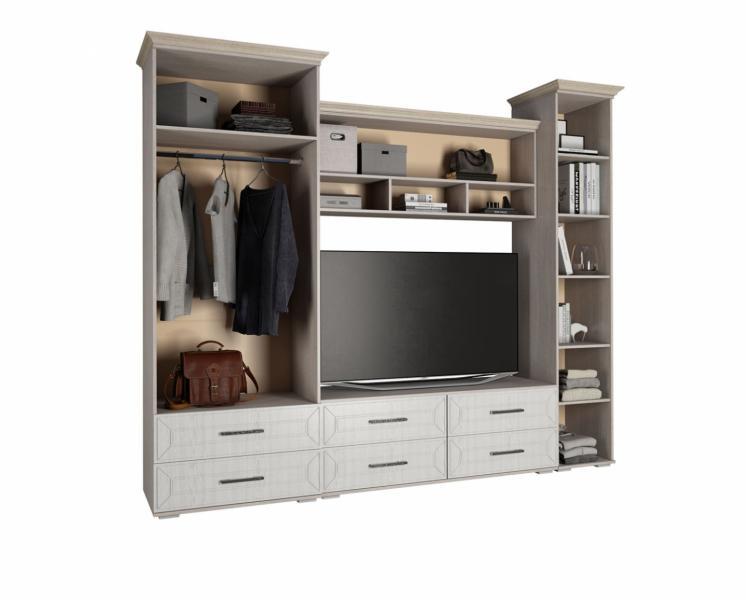 Фото Стенки и мебель для гостиной  Гостиная Британика (БТС)