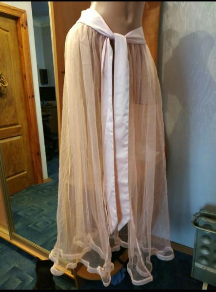 Прозрачная юбка