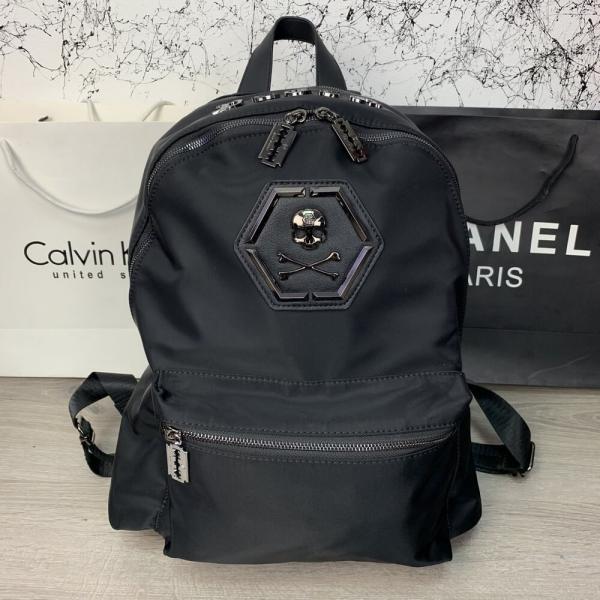 Backpack Philipp Plein Skull Black