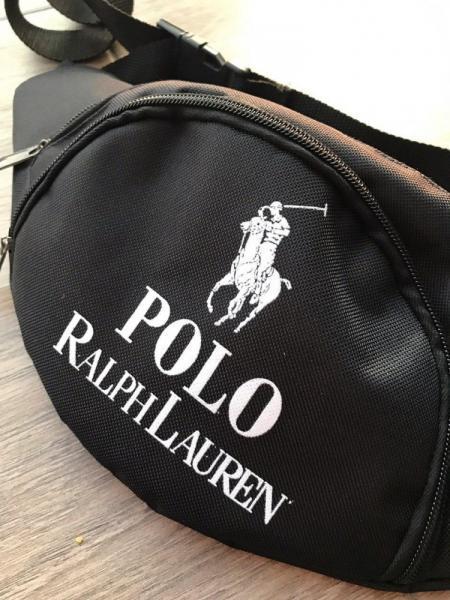 Поясная сумка черная POLO by Ralph Lauren