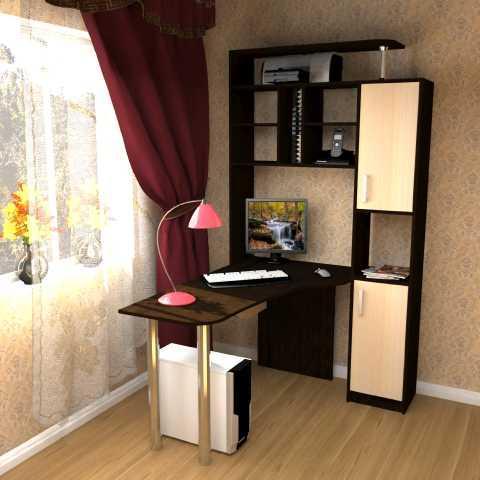 Фото Столы компьютерные и письменные Стол компьютерный угловой СК-14 (Пирамида)